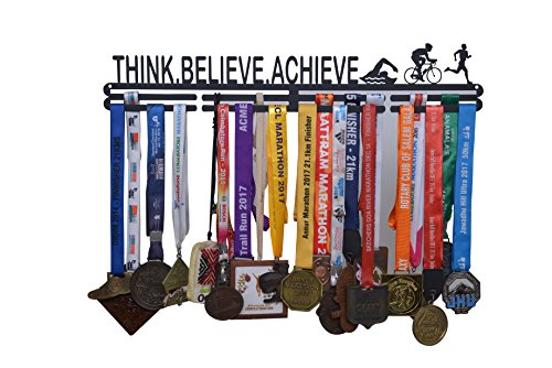 RUNWYND Think Believe Achieve Medal Hanger – Black Price & Reviews
