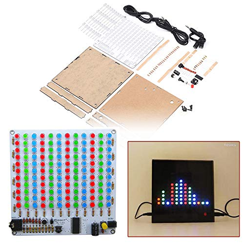 IS Icstation 12X11 Color LED Music Audio Spectrum Analyzer