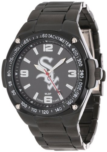 Game Time Unisex MLB-WAR-CWS Warrior Chicago White Sox Analog 3-Hand Watch