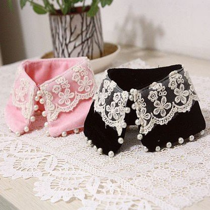 Fancy Ailei Si Small Beaded Neck Collar