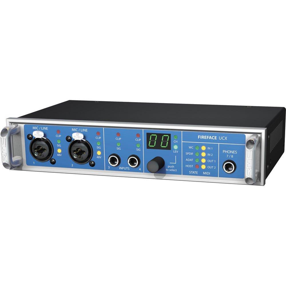 Amazon.com: RME Fireface UCX 36 Channel 24 Bit 192kHz High-End USB ...