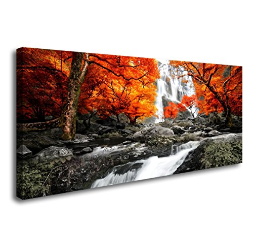 Cheap  Landscape Tree Canvas Wall Art Painting Modern Design Picture For Home Office..