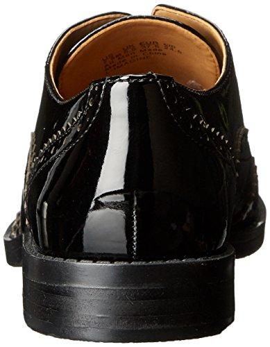 Mujer Black Oxford l Franco Patent Sarto imagine pv5xZq