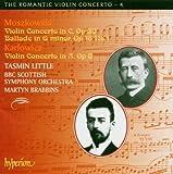 The Romantic Violin Concerto Vol. 4 - Moszkowski: Violin Concerto in C, Op. 30, Ballade in G minor, Op. 16 No. 1; Karlowicz: Violin Concerto in A, Op. 8