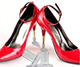 MQ High Heel Protectors(2 Pairs/Clear) for Walking On Grass & Mud,Perfect for Weddings,Outdoor Events