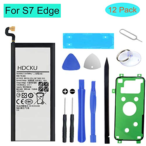 HDCKU Battery Replacement Kit for Samsung Galaxy S7 Edge Battery for S7 Edge G935 EB-BG935ABE with Repair Tools and Instructions [365 Days Warranty]