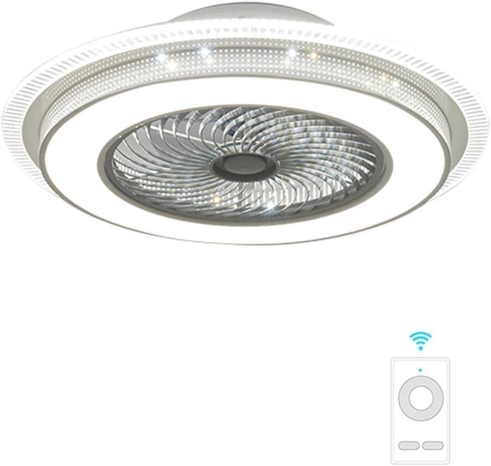 """YZPFSD 33"""" Ventiladores de Techo Gigantes con Luces y Control Remoto con 3 Cuchillas de acrílico Ventiladores de Techo Invisible for Sala de Estar, Dormitorio, Sala (tamaño : 33"""