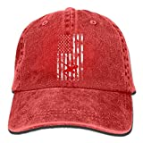 Eveler Wrestling Wrestler USA Flag Pride Classic Unisex Baseball Cap Adjustable Washed Dyed Cotton Ball Hat