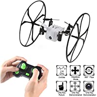 2.4Ghz Mini RC Quadcopter Drone 0.3MP Camera 4CH 6-Axis RC Quadcopter With 3D Flips and Wall Climbing