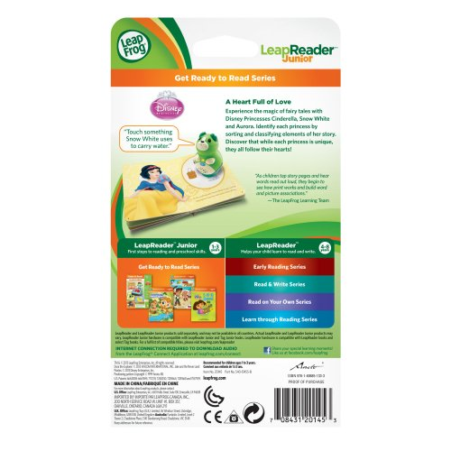 LeapFrog LeapReader Junior Book: Disney Princess: A Heart Full of Love (works with Tag Junior) by LeapFrog (Image #4)