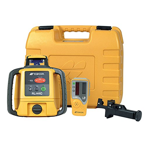 Rotary Level Control (Topcon 313980753 RL-H4C Self Leveling D-Cell Battery Construction Laser Level)