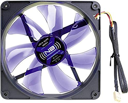 Noiseblocker BlackSilentFan XK1 - Ventilador de PC (5 V, Negro, 140 mm, 140 mm, 25 mm): Amazon.es: Informática