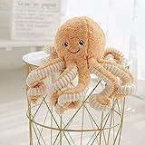 Octopus Plush, Cute Sea Creature Stuffed Marine Animals Plush Toy Simulation Soft Plush Pillow Toys 15.7inches