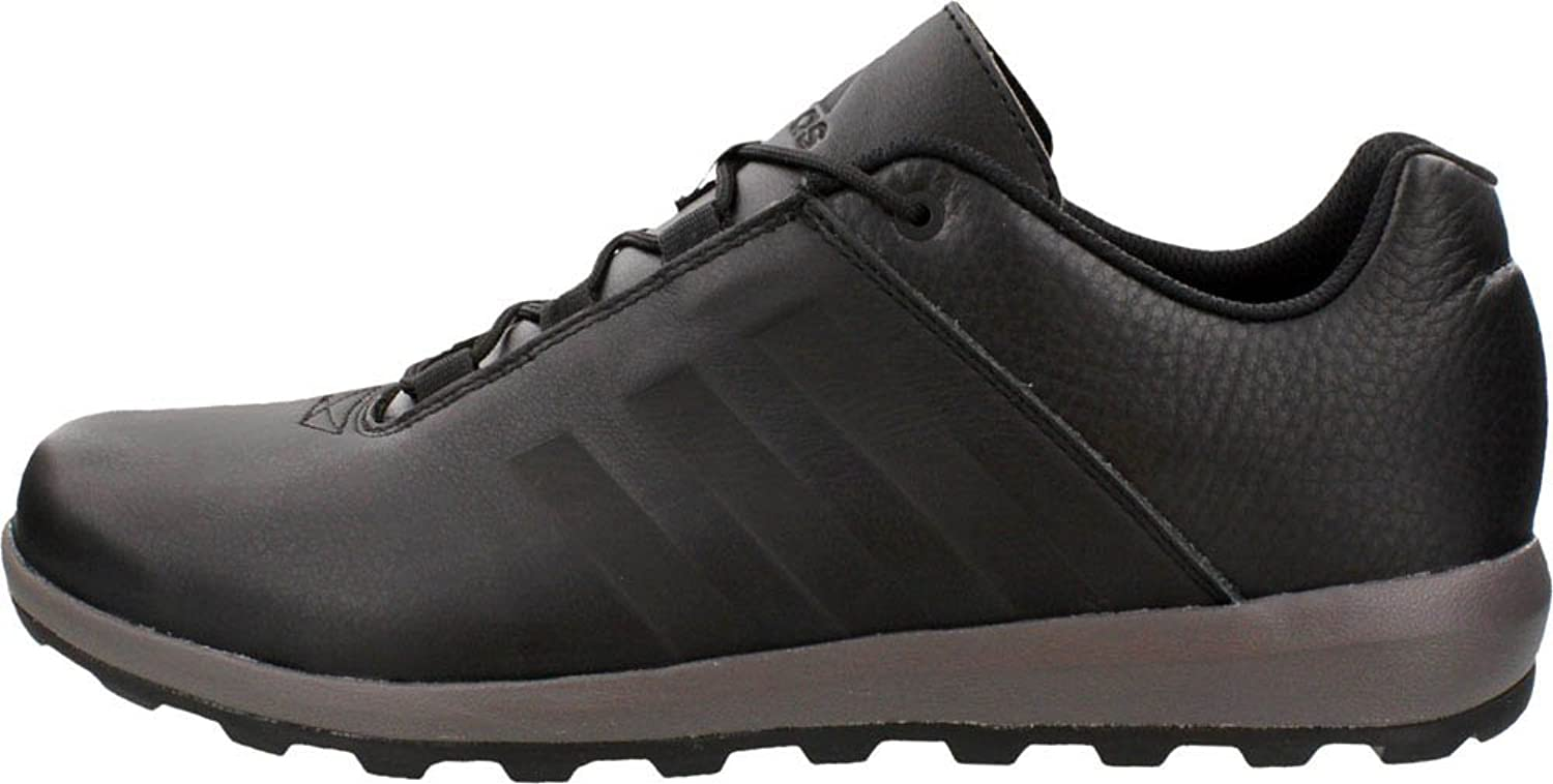 adidas Men's Zappan II Hiking Shoe,Black/Granite/Black,US 13 M
