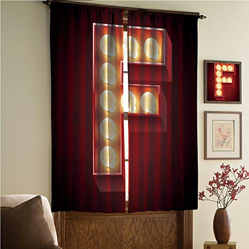 whitepurplecassie curtain Satin Silk Curtains Panels Suitable Fornursery,Bedroom,Living Room,Kitchen Cafe,Sheer Curtains,Reduce noisel,Nightlife Disco Clubs Casino Movie Theater Font 108Wx84L Inch ()