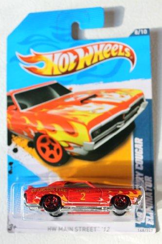 2012 Hot Wheels '69 Mercury Cougar Eliminator Red #168/247