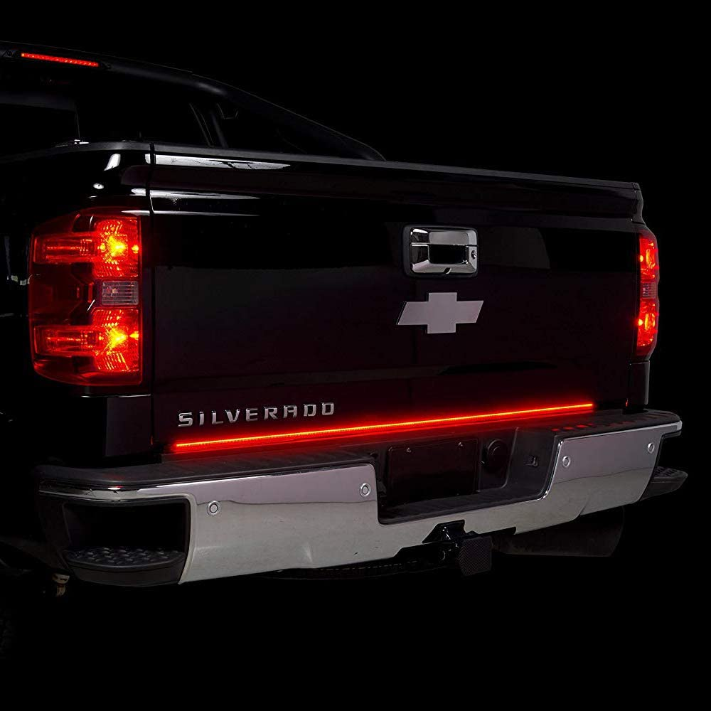 Truck LED Tailgate Light Bar Strip 60 Triple with Sequential Turn Signals /& Bright Brake /& Reverse Lights