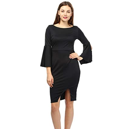 1d0f31d17c0 Amazon.com  Women Office Dress Lady Business Suits Bodycon Dress Work Party  Dress Hemlock (M