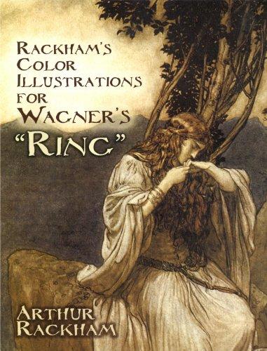 """Rackham's Color Illustrations for Wagner's """"Ring"""" (Dover Fine Art, History of Art)"""