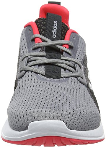 Three Adidas De Running Chaussures 0 Element Femme Red grey V grey Gris shock Three anq8R4aWc