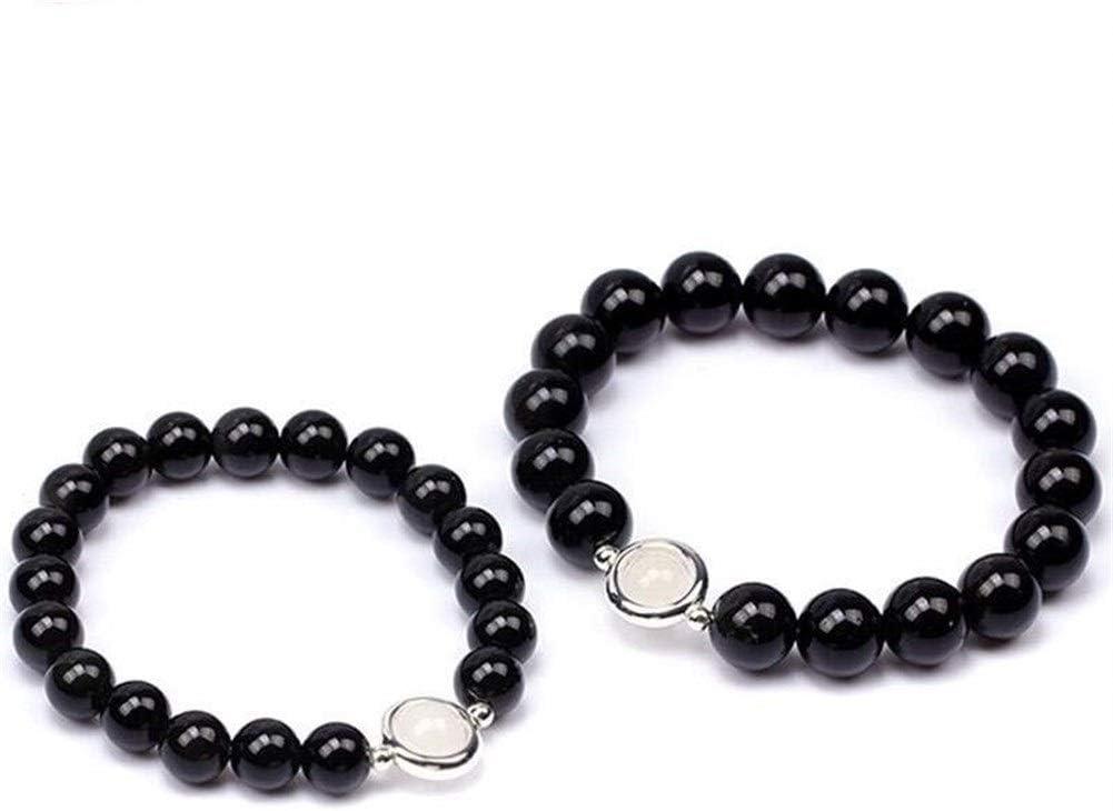 Clásica Pulsera de Obsidiana Negra Natural 10 mm 8 mm Tibetano Mala Grano Curación de Cristal Piedras Preciosas Pulsera Hombres + Mujeres exquisita