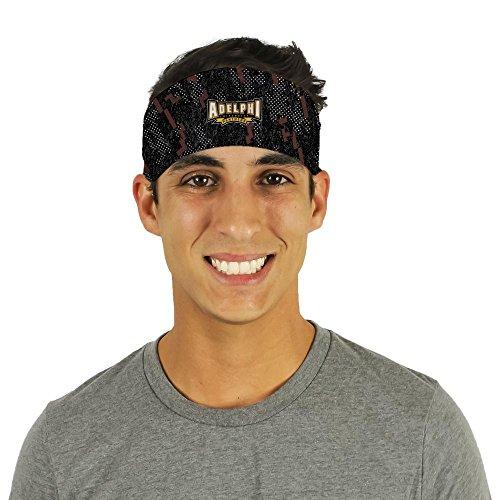 Adelphi University Panthers Camo Headband