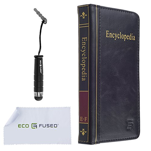 Eco Fused Faux Leather Book iPhone
