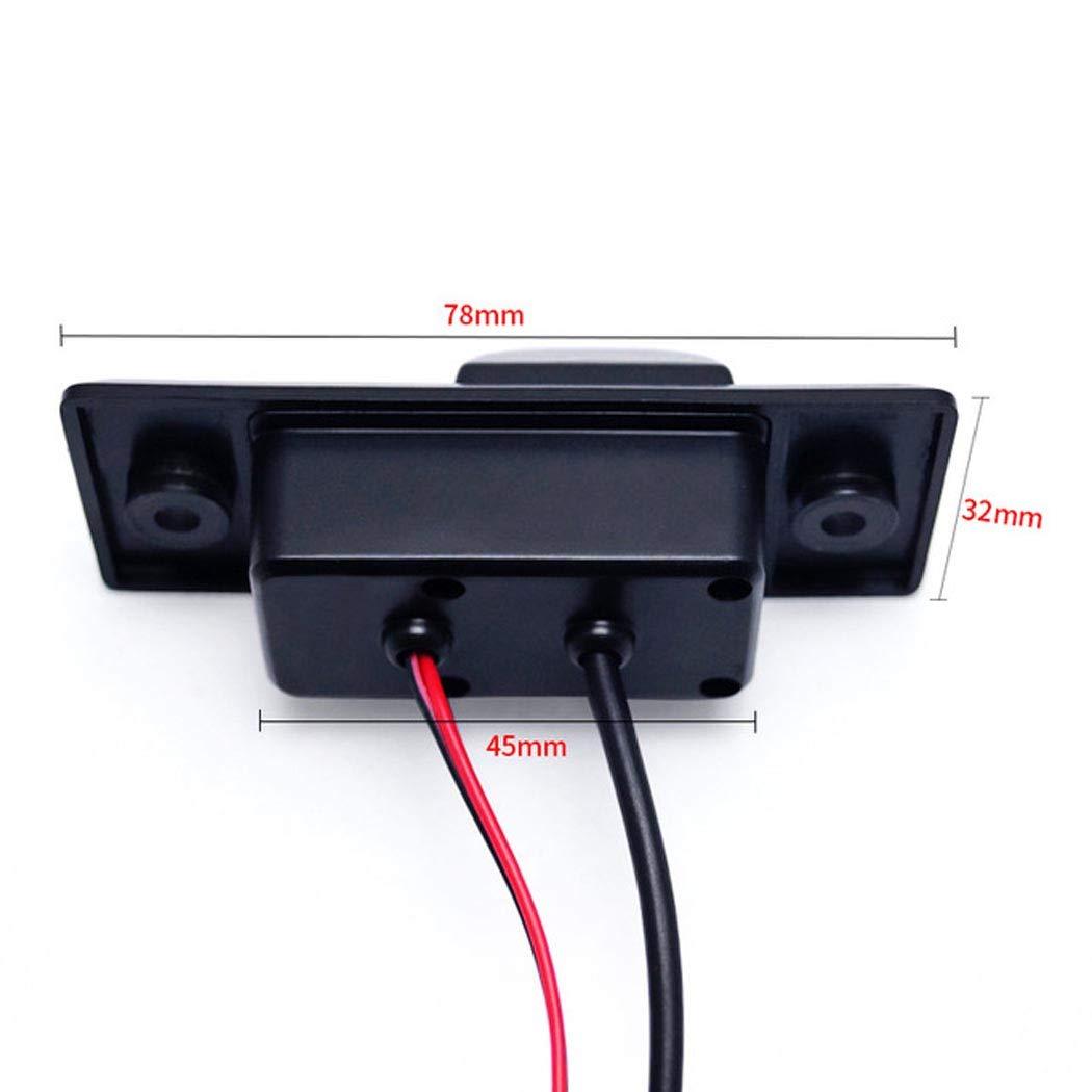 Vision Nocturne Cam/éra de stationnement du Coffre Grand Angle pour Porsche Cayenne Wus Cam/éra de recul Syst/ème daide au stationnement /étanche