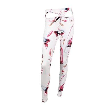 iZZB - Pantalón de Yoga para Mujer, Talla Alta, Control ...