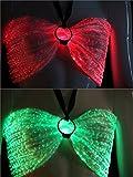 Fiber Optic Backless Bras LED Light up Dance