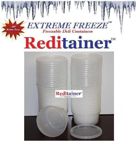 10 ounce freezer containers - 2