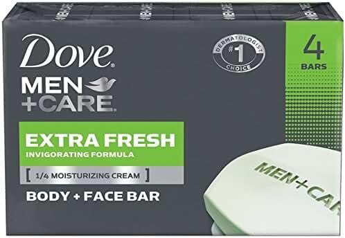 Dove Men + Care Body & Face Bar, Extra Fresh 4 ea