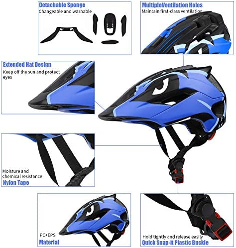 Kids Bike Helmet Hat For Skateboard Scooter Protective With Quick Relese Buckle