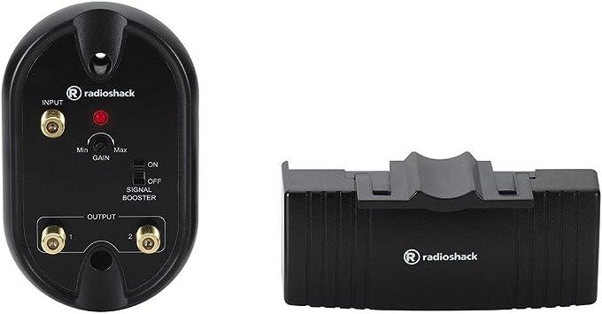 RadioShack Amplificador de señal de Alta Ganancia montado en Antena