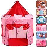 Infantastic® - KDZT05 - Carpa para niños - Fairy Castle - Incluye bolsa de transporte - Diferentes diseños a elegir