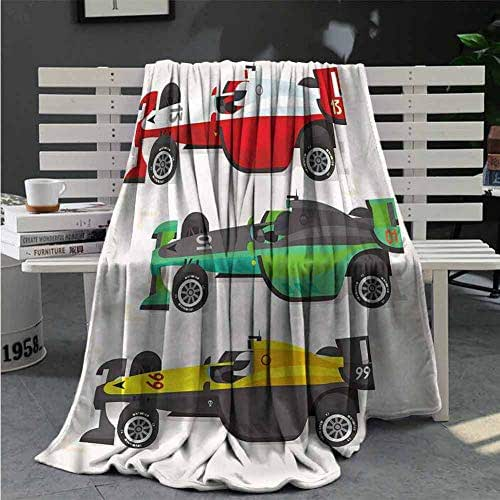 RenteriaDecor Boys Room Throw Blanket Soccer Player Goalkeeper Sofa Throw Bed Cars Portable Home Decors Great Gifts to Your Family,Friends,Kids