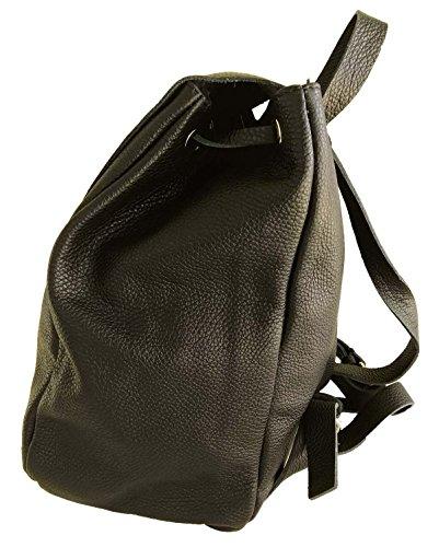 ATELIERS FLORENTINS - Bolso mochila  de Piel para mujer negro
