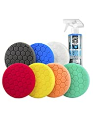 Chemical Guys BUF_HEX_KITS_8P Hex-Logic Buffing Pad Kit (5.5 ...