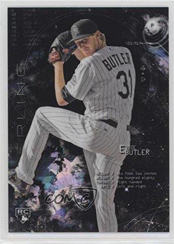 Eddie Butler #3/10 (Baseball Card) 2014 Bowman Sterling - [Base] - Black Atomic Refractor #4
