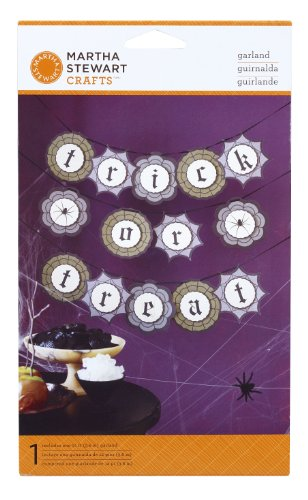 Martha Stewart Crafts Garland, Haunted Trick or Treat -