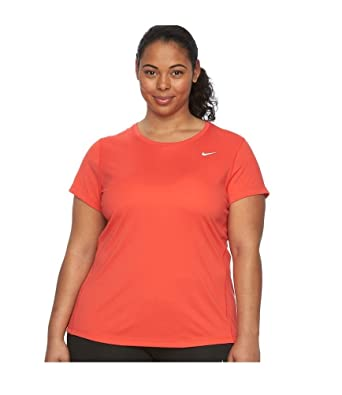 ed8e73faf Image Unavailable. Image not available for. Color: Nike Women's Plus Size  Dry Miler Running Shirts 1XL