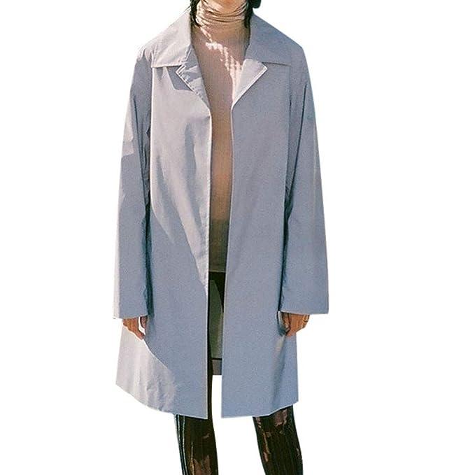 Casual Donna Su Misura Anteriore 4 tasche con colletto cappotto blazer cerniera