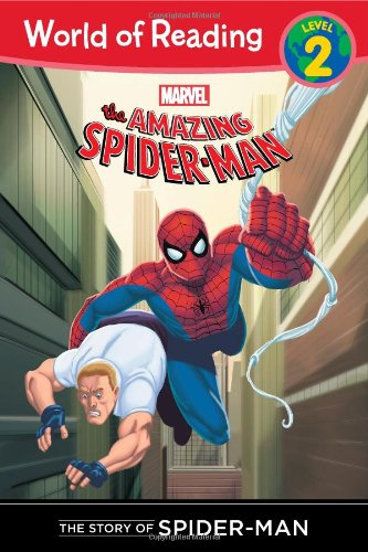 (The Story of Spider-Man (Level 2) (World of Reading))