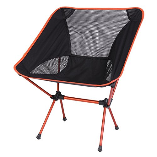 Kingpeony Portable Ultralight Camping Chairs for Fishing Picnic Hunting,Camping Backpacking Chair with Carry Bag