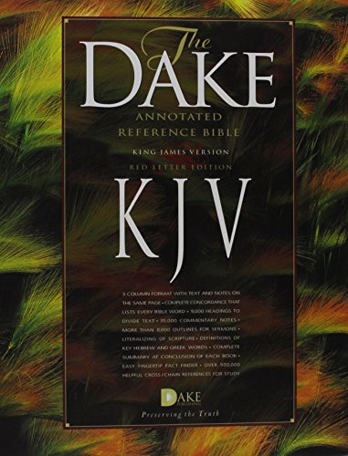 Dake Annotated Reference Bible-KJV