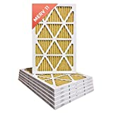 16x20x1 MERV 11 ( MPR 1000 ) Pleated AC Furnace Air Filter - 6 Pack