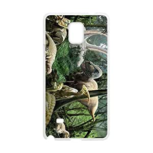 Malcolm Forest Creative Creative Dinosaurs Custom Protective Hard Phone Cae For Samsung Galaxy Note4