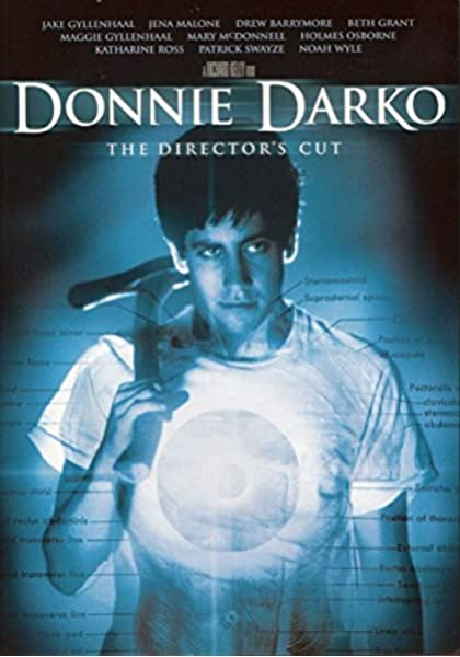 Amazon Com Donnie Darko The Director S Cut Two Disc Special Edition Jake Gyllenhaal Jena Malone Mary Mcdonnell Holmes Osborne Maggie Gyllenhaal Daveigh Chase James Duval Arthur Taxier Patrick Swayze Mark Hoffman David St James