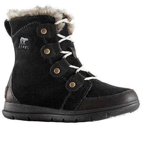 Boots Joan dark Explorer Stone Snow Black Sorel Women's g76UxwqUv