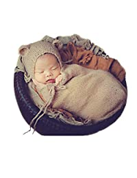 Fashion Newborn Boy Girl Baby Costume Photography Props Hat Sleeping Bag
